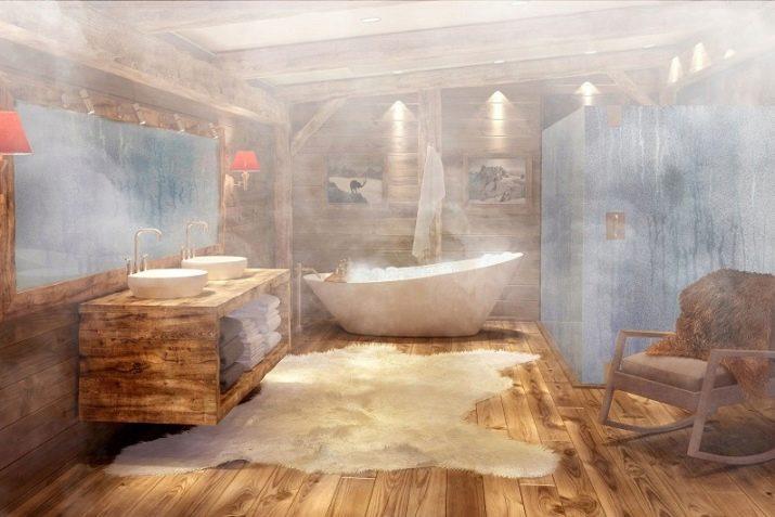 Альтернатива плитке в ванной ✓советы экспертов (80+ фото дизайна)