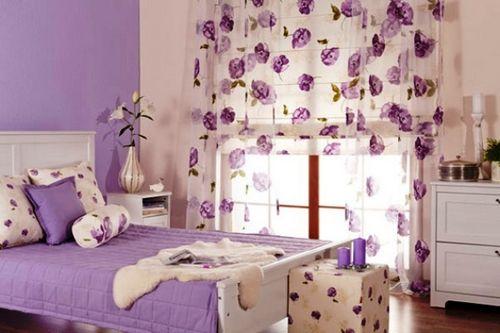 фиолетовые обои для стен