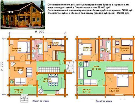 Как надстроить второй этаж на старый дом - ogorod.guru