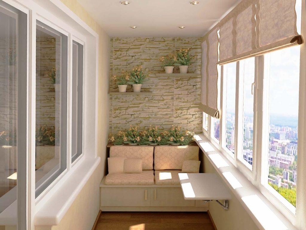 ремонт балкона дизайн фото внутри