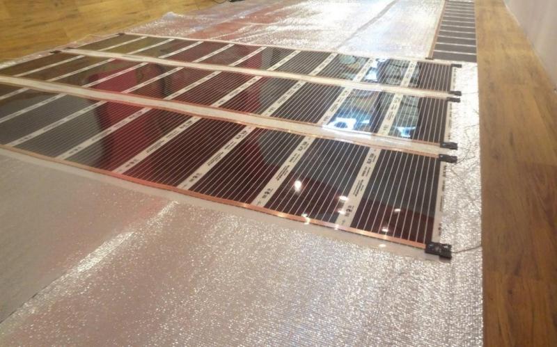 линолеум на теплый пол из водяного отопления