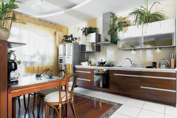 Дизайн кухни в частном доме: современные дизайны + 130 фото