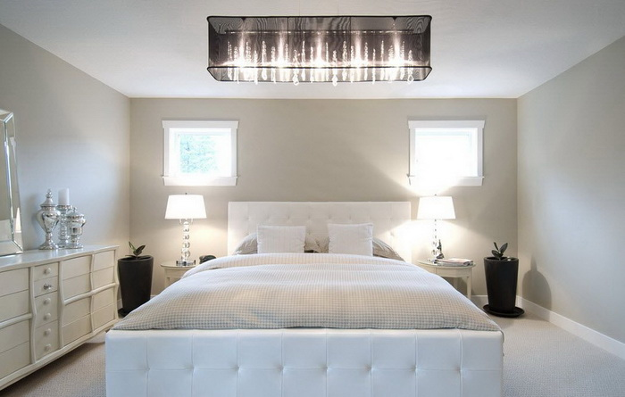 какие люстры сейчас в моде для спальни