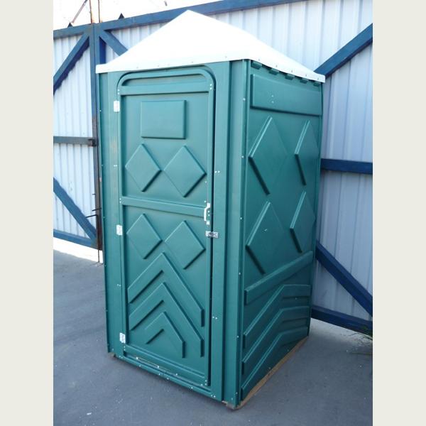 Туалет пластиковый для дачи (цена): кабина уличная