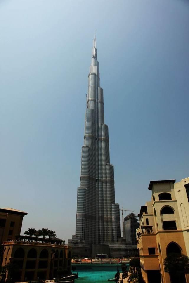 самая высокая башня в дубае