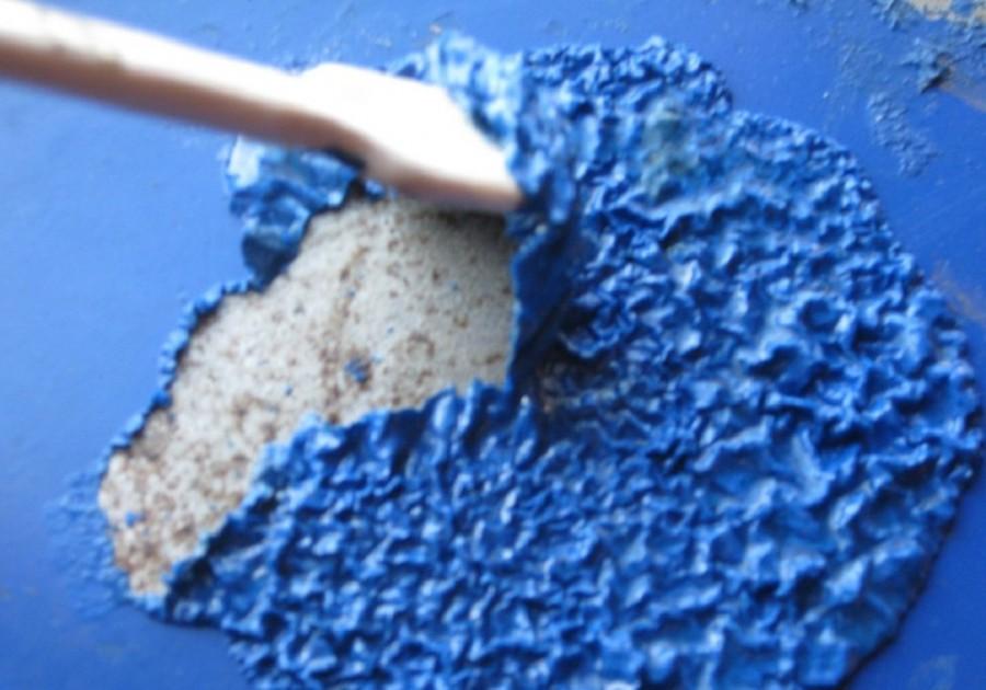Урок 3. как снять старую краску со стен в ванной комнате и туалете