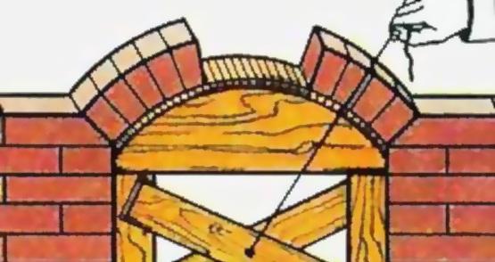 Отделка арок декоративным камнем