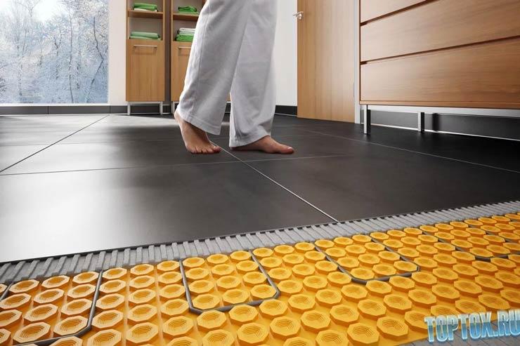 Подложка под ламинат на теплый пол: как выбрать, виды, характеристики и монтаж