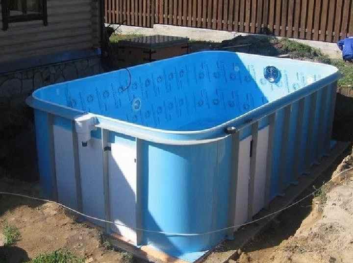 Бассейн для дачи (68 фото): дачные пластиковые уличные или композитные крытые бассейны, сборные водоемы в ландшафтном дизайне