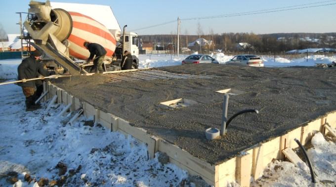 Зальем бетон в холодный сезон! все о противоморозных добавках