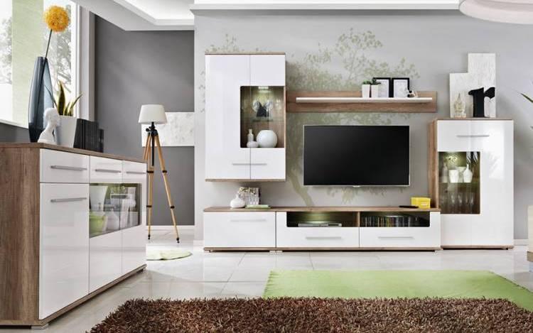 Стенка в гостиную — трендовые идеи применения стенок и актуальных вариантов интерьера гостиной