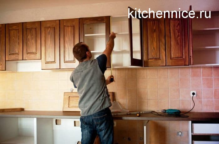 поменять фасад кухни