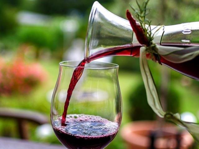 вино на мезге