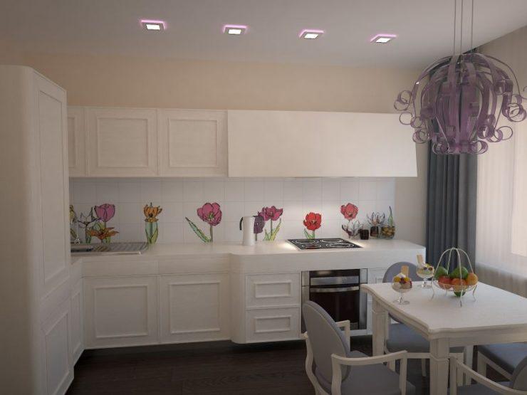 Кухня-гостиная 14 кв. м с диваном: реальные фото, дизайн, современные идеи, планировка