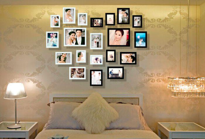 Как сделать коллаж из фотографий своими руками на стену: создаем домашний уют