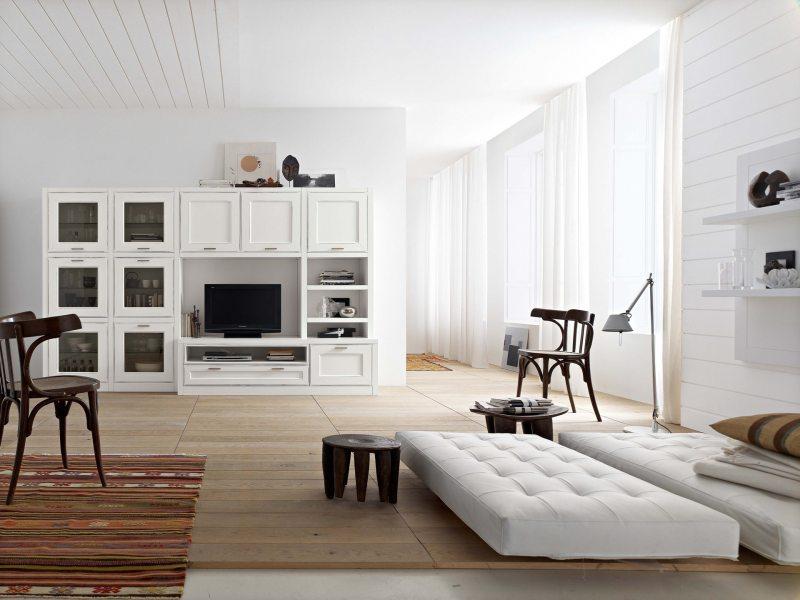 Мини-стенки для гостиной: 100 фото новинок, идеи дизайна, разновидности