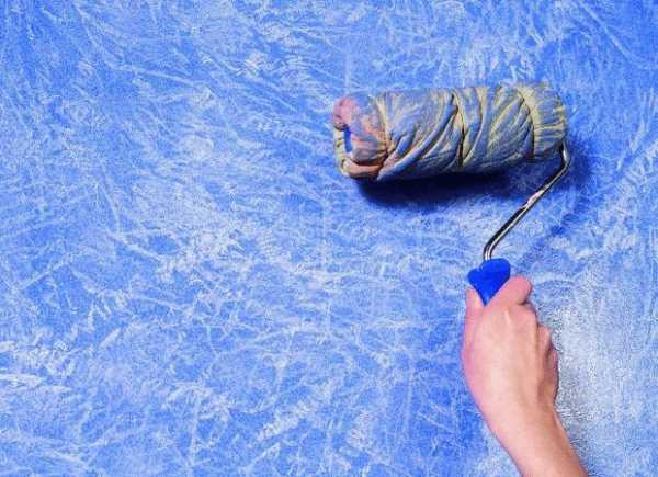 Валики для декоративной покраски своими руками