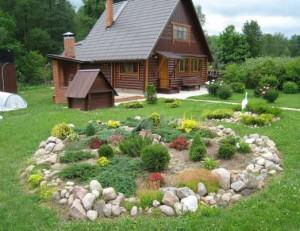 Планировка участка 10 соток | красивый дом и сад