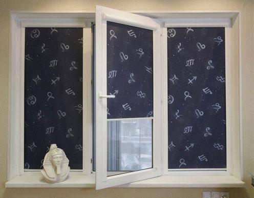 как пошить римские шторы