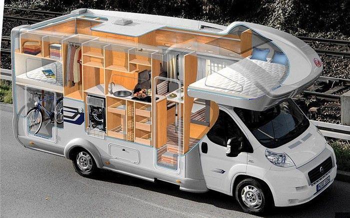 передвижной дом на колесах