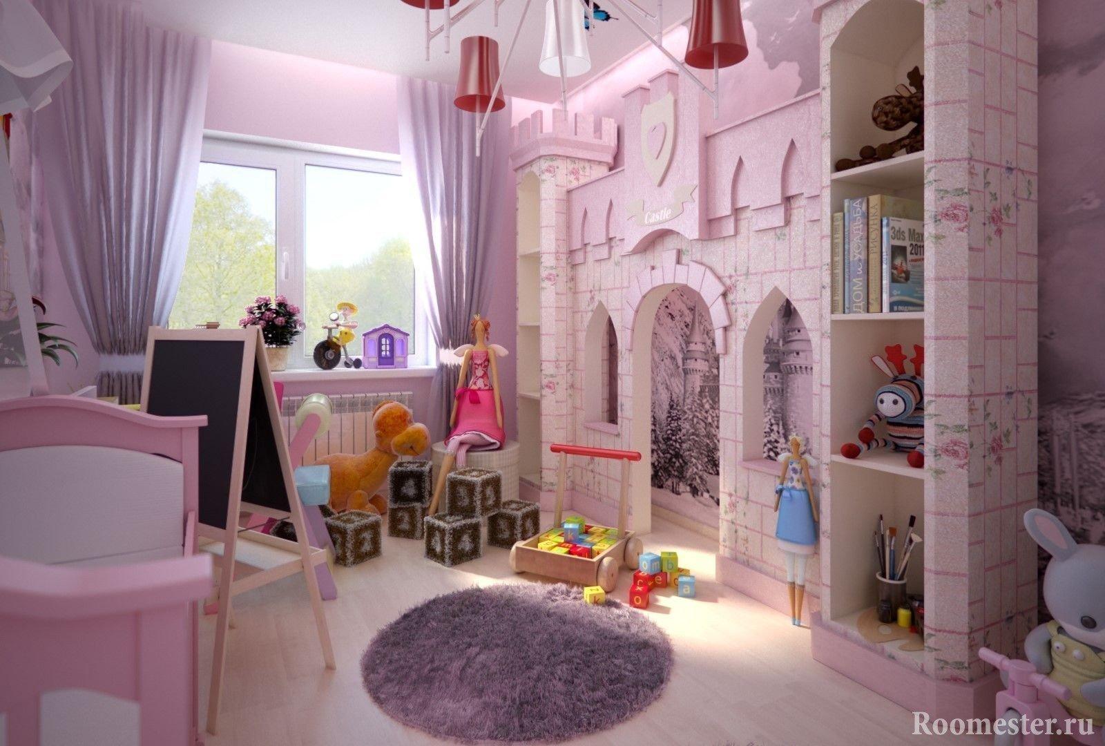 Кровать для девочки 3-10 лет (60 реальных фото): современные варианты