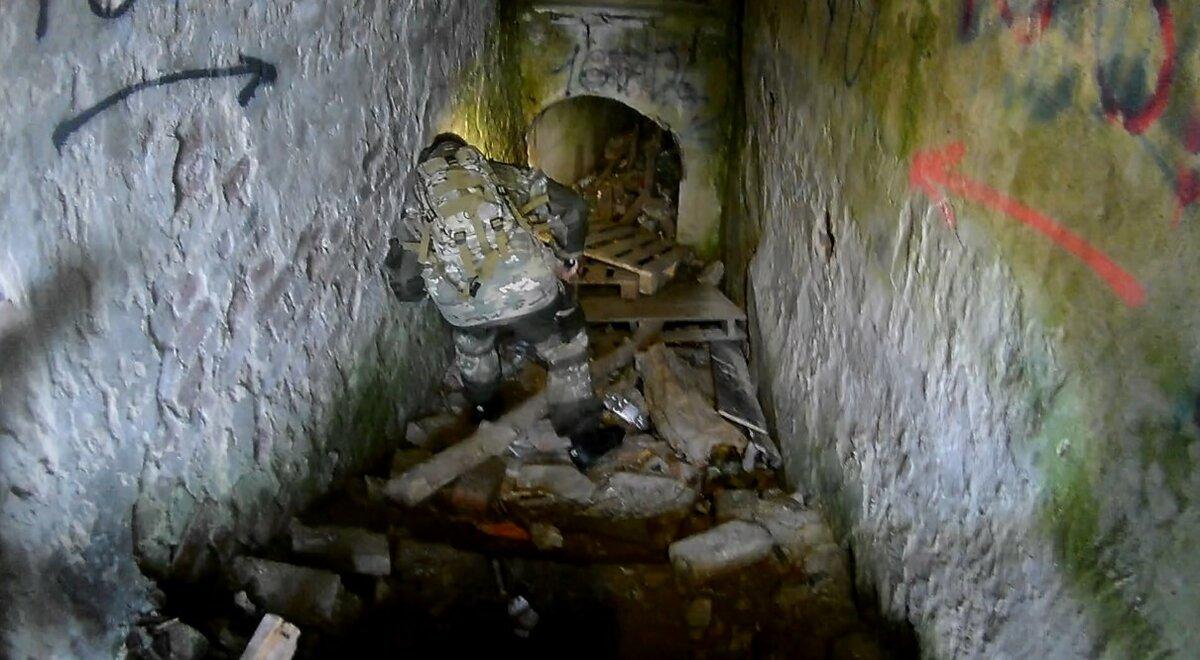 бункер под землей