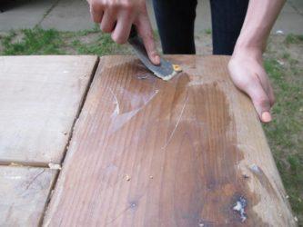 Об особенностях применения масляных пропиток внутри помещений