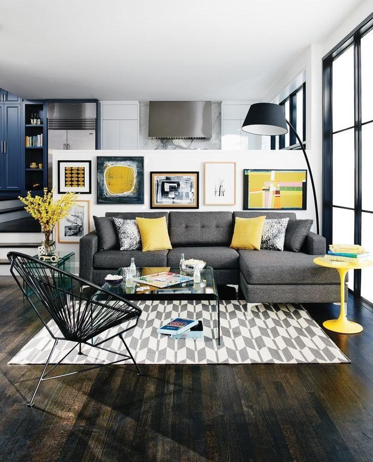 Обои для гостиной - 85 фото, красивые идеи дизайна, как комбинировать, советы по выбору