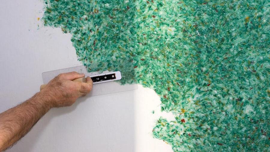 Жидкие обои на потолок – как наносить и лучшие сочетания современного дизайна (120 фото) – строительный портал – strojka-gid.ru