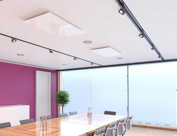 Инфракрасные панели отопления: потолочные, водяные и другие виды