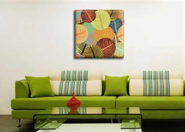 Модные картины для интерьера: как правильно развесить картины в зале