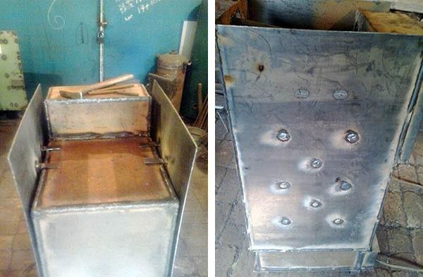 Самодельные котлы отопления на дровах и водяное отопление своими руками