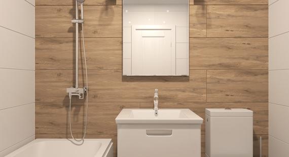 Дизайн ванной и туалета в квартире 23 фото