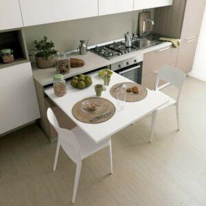Как выбрать выдвижные столы для кухни