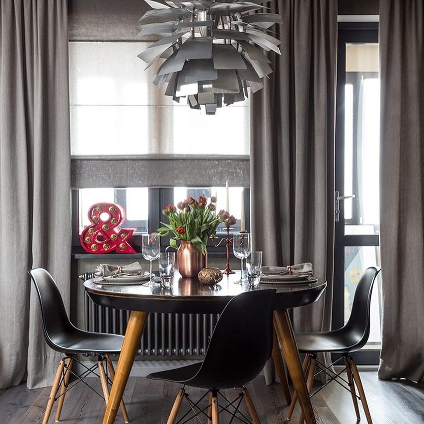 Современные короткие шторы на кухню (78 фото): дизайн занавесок 2020 года — новинки