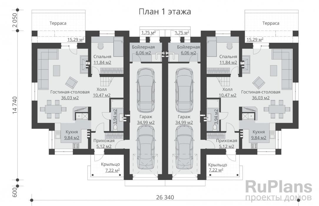 Дизайн таунхауса: 75 идей интерьера многоуровневых апартаментов