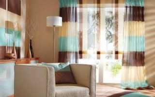 Жёлтые шторы: примеры в интерьере