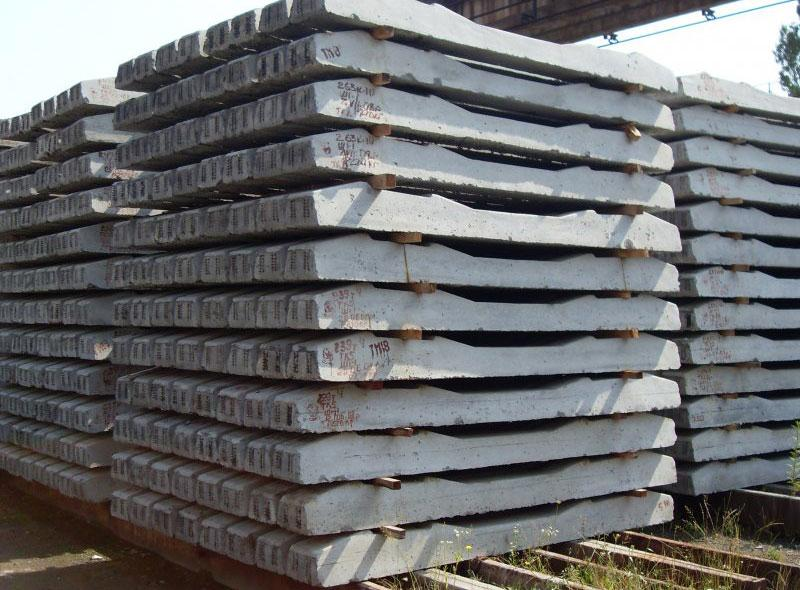 Вес железобетонной шпалы: сколько весит один экземпляр, длина и ширина изделия