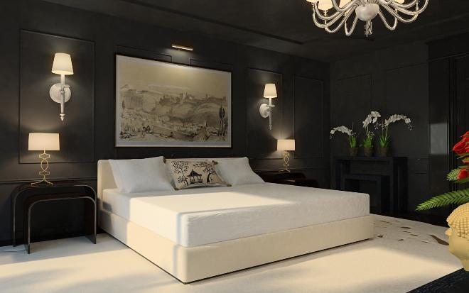 Черный цвет в интерьере — символ роскоши - 123 фото примера