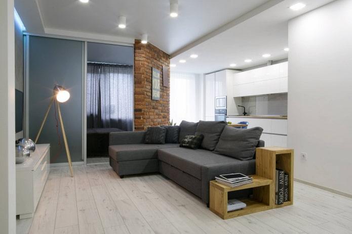 Дизайн 2-комнатной квартиры площадью 50 кв. м (58 фото): планировка интерьера двухкомнатной квартиры в панельном доме, особенности ремонта евродвушки