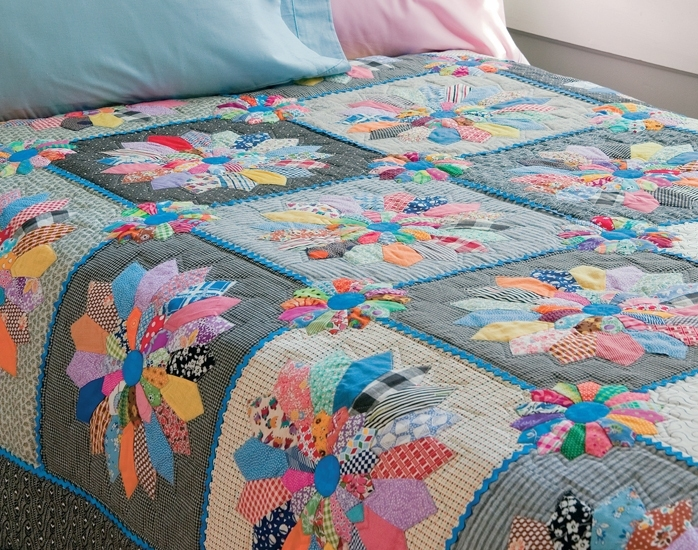 Лоскутное одеяло своими руками: азы пэчворка, мастер-класс для начинающих