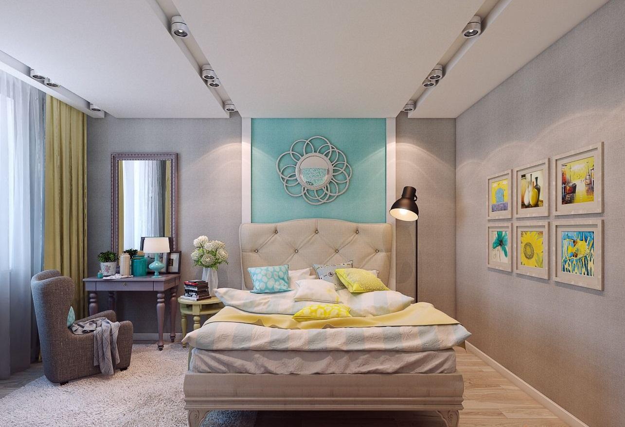 Дизайн спальни 13 кв. м - обустройство интерьера небольшой комнаты