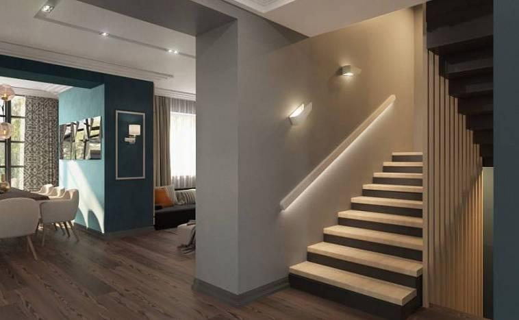 Как сделать подсветку ступеней лестницы: советы экспертов и обзор лучших светильников для лестницы (105 фото)