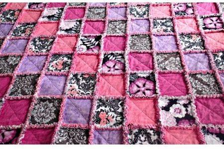 Шьем лоскутное одеяло своими руками: схемы и инструкции