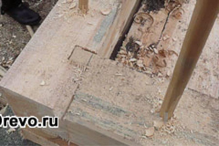 Типы угловых соединений бруса при строительстве дома