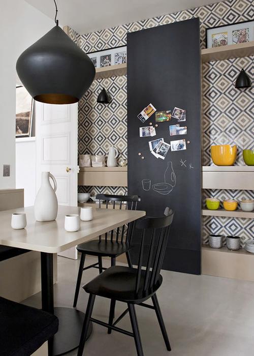 Грифельная краска для стен — все, что необходимо знать
