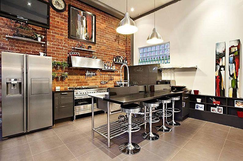 барные стойки на кухне фото дизайн