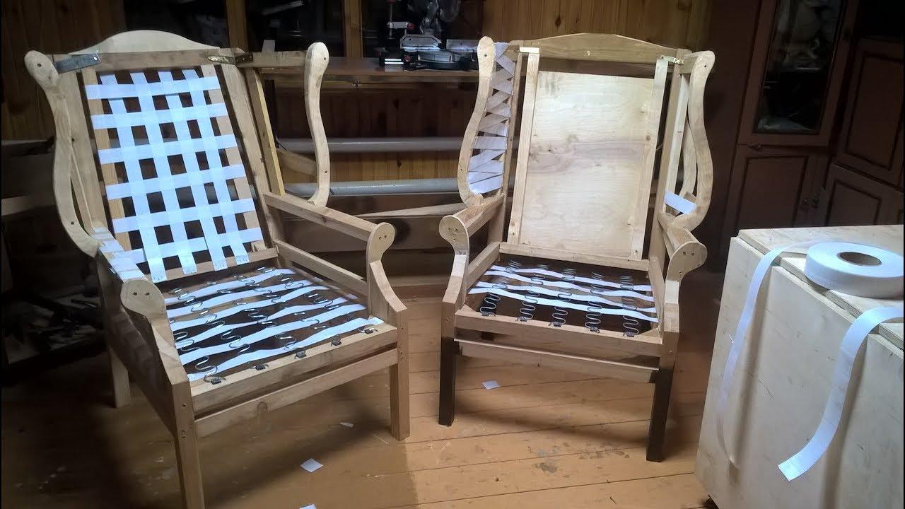 Кресло своими руками из дерева: инструкции по сборке