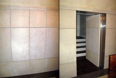 Идеи как спрятать дверь, самодельные и готовые потайные конструкции