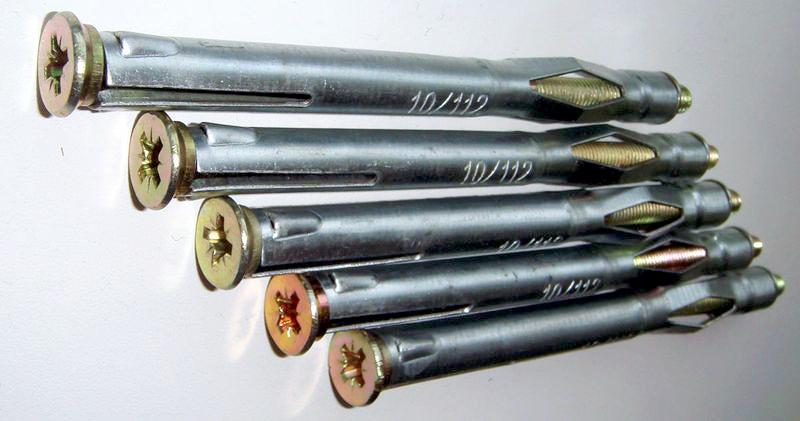 Анкер для газобетона: химические и пластиковые изделия для газоблока